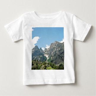 Rocky Ledge From Jenny Lake Baby T-Shirt