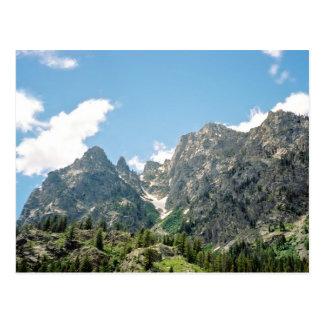 Rocky Ledge From Jenny Lake Postcard