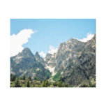 Rocky Ledge Stretched Canvas Print