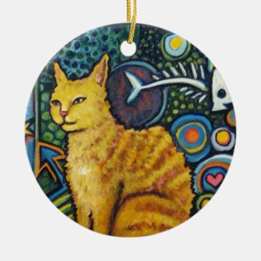 Rocky, los productos del gato de la estrella del r ornamento para arbol de navidad