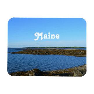 Rocky Maine Coast Rectangular Magnets