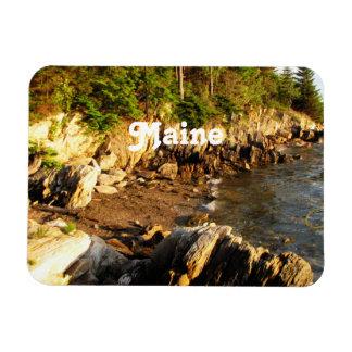 Rocky Maine Coast Vinyl Magnet