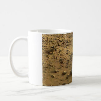 Rocky Martian surface Mars coffee cup