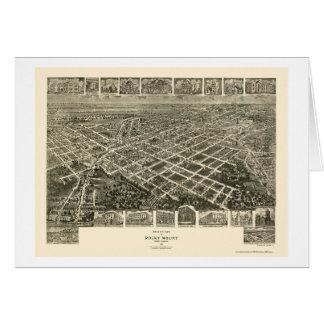 Rocky Mount, NC Panoramic Map - 1907 Card
