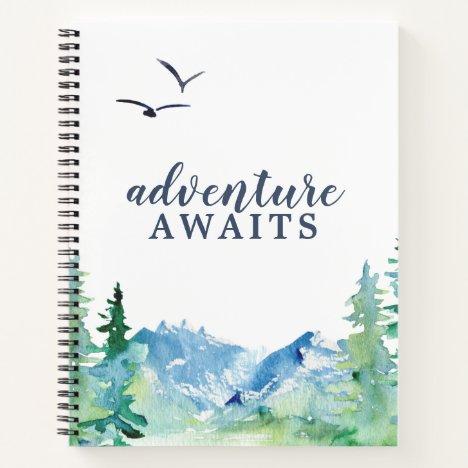 Rocky Mountain Adventure Awaits Travel Journal