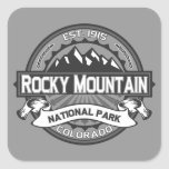 Rocky Mountain Ansel Adams Stickers