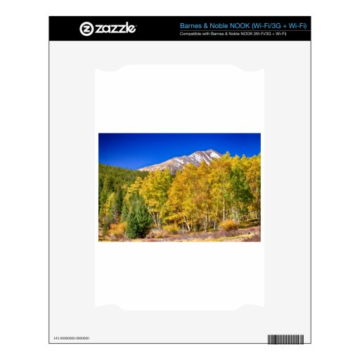 Rocky Mountain Autumn Bonanza Decals For The NOOK