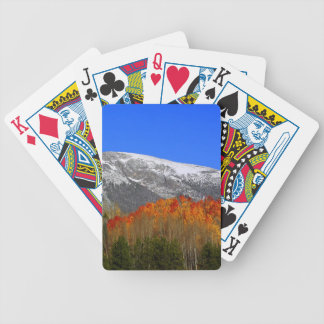 Rocky Mountain Autumn - Colorado Bicycle Playing Cards