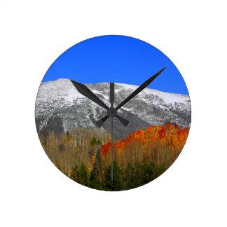 Rocky Mountain Autumn - Colorado Wallclock