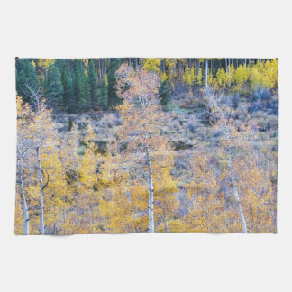 Rocky Mountain Autumn Contrast Hand Towel