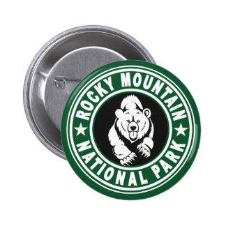 Rocky Mountain Circle Green Pins