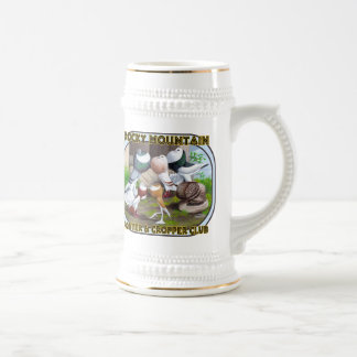 Rocky Mountain Club Logo Beer Stein