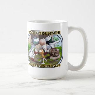 Rocky Mountain Club Logo Classic White Coffee Mug