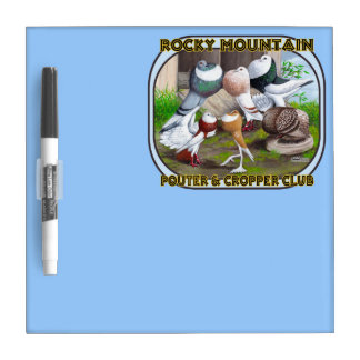 Rocky Mountain Club Logo Dry-Erase Board