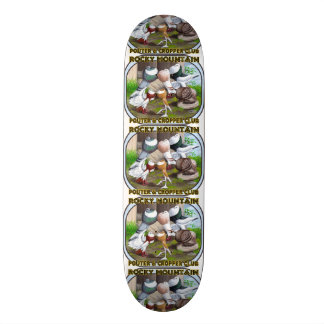 Rocky Mountain Club Logo Skateboard Deck