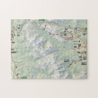 Rocky Mountain (Colorado) map puzzle