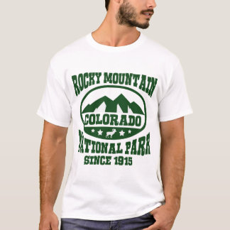 ROCKY MOUNTAIN COLORADO NATIONAL PARK SINCE 1915 T-Shirt