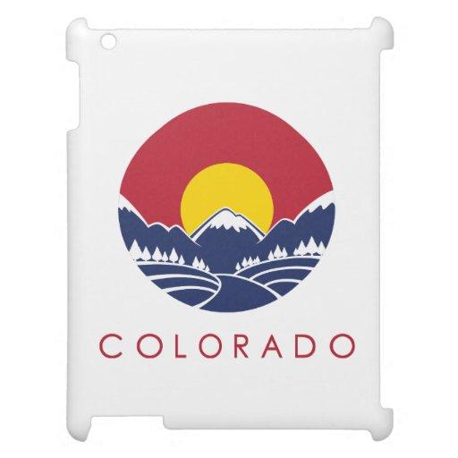 Rocky Mountain Colorado Sunset Logo Case For The iPad