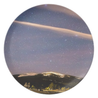 Rocky Mountain Cosmic  Delight Dinner Plate