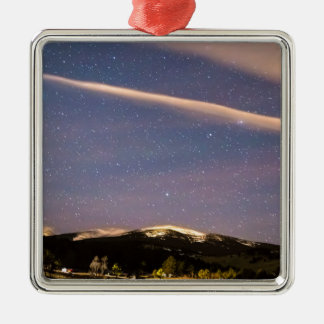 Rocky Mountain Cosmic  Delight Metal Ornament