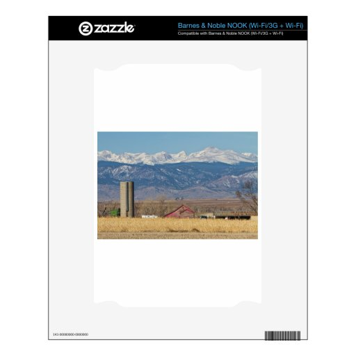 Rocky Mountain Country View Skin For NOOK