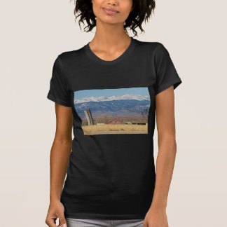 Rocky Mountain Country View T Shirt
