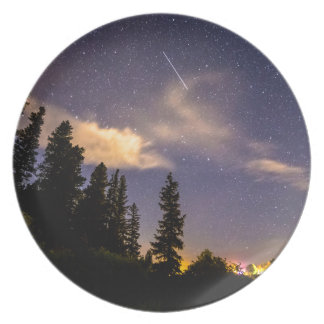 Rocky_Mountain_Falling_Star Dinner Plate