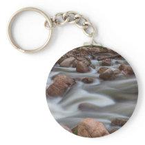 Rocky Mountain Flow Keychain