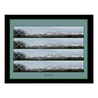 Rocky Mountain Foothills Poster 2 by gretchen