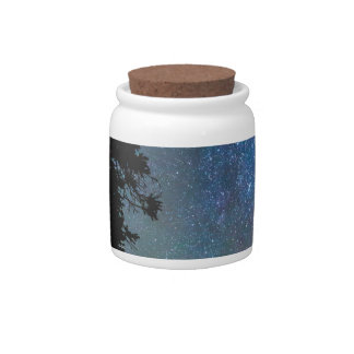 Rocky Mountain Forest Night Candy Jars