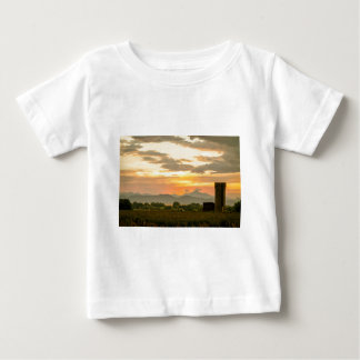 Rocky Mountain Front Range Country Landscape Baby T-Shirt