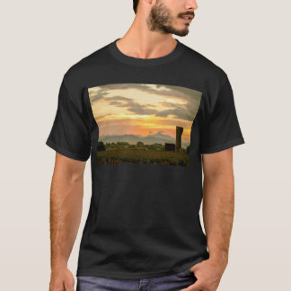 Rocky Mountain Front Range Country Landscape T-Shirt