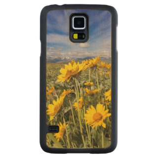 Rocky Mountain Front Range Carved® Maple Galaxy S5 Slim Case