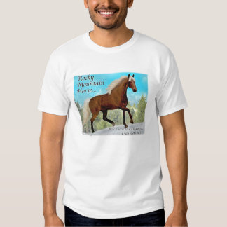 Rocky Mountain Gaited Horse T Shirt