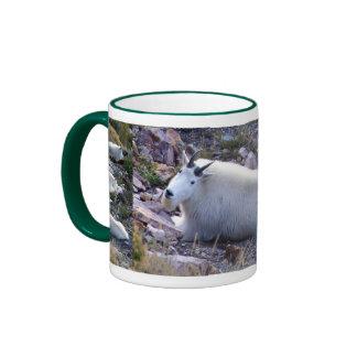 Rocky mountain goat ringer mug