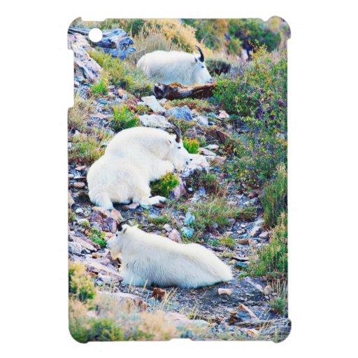 Rocky Mountain goats Case For The iPad Mini