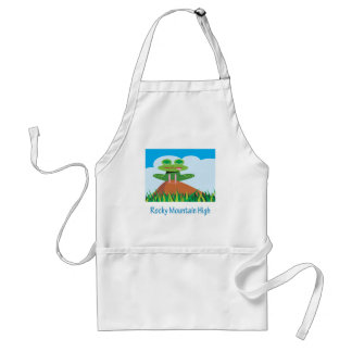 Rocky Mountain High Adult Apron