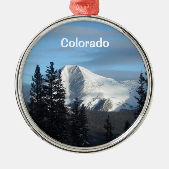 Rocky Mountain High Colorado Metal Ornament Zazzle Com