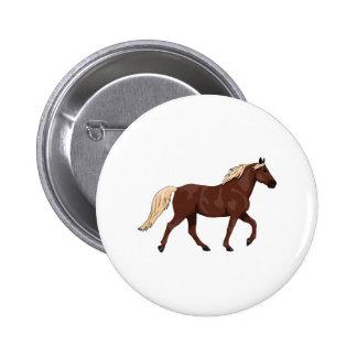 Rocky Mountain Horse Chocolate Pinback Button