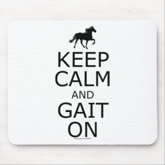 Rocky Mountain Horse Keep Calm Gait On Mousepad