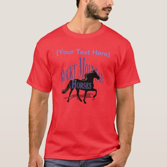 Rocky Mountain Horses - Personalize It T-Shirt