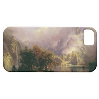 Rocky Mountain Landscape by Albert Bierstadt, 1870 iPhone 5 Case