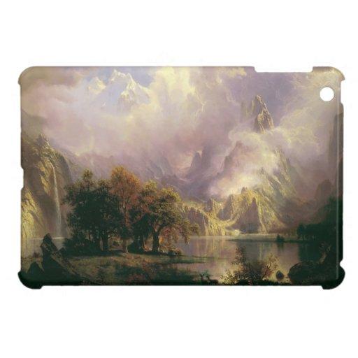 Rocky Mountain Landscape by Albert Bierstadt, 1870 iPad Mini Covers