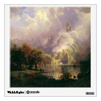 Rocky Mountain Landscape by Albert Bierstadt, 1870 Wall Decals
