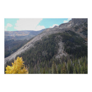 Rocky Mountain Landscape Photo Nature Wall Poster