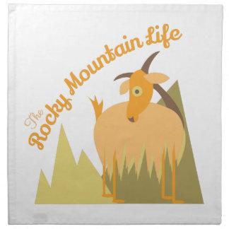 Rocky Mountain Life Napkin