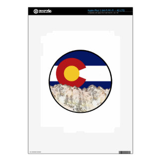 Rocky Mountain Love Decal For iPad 3