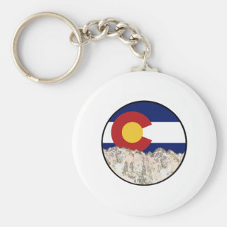 Rocky Mountain Love Keychain