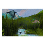 Rocky Mountain Magic Wilderness & Wildlife Art Print