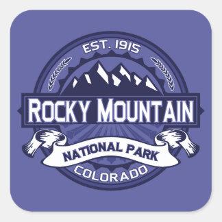 Rocky Mountain Midnight Square Sticker